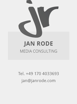 Jan Rode - Multimedia Consulting